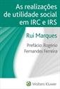 Imagem de As realizações de utilidade social em IRC e IRS